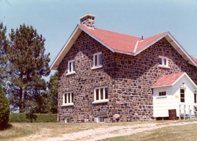 Deputy Rangers house, Ranger Lake, 1976