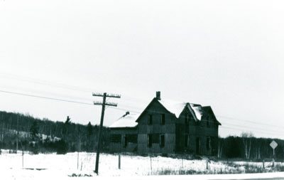 Old Daigle House, Iron Bridge, 1977