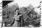 Cliff Ross Hickingbottom in Uniform, 1944