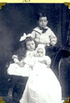 Children of Sam and Annie Allen, 1907
