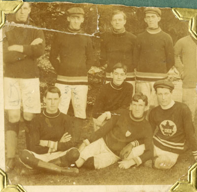 Cyrus Rothwell Allen and Teammates, 1903-05