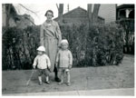 Jane (Jenny) Beemer With Two Children, Circa 1939