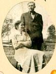 Emma and Burt Allen, Circa 1920