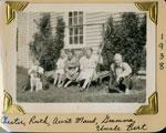 Chester, Ruth, Maud, Gramma Allen, Bert Gardiner, 1938