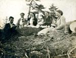 Group Picnic with Gramma Allen, Circa 1914