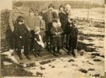 Family at Grandfather Gardiner's, Dayton, 1928