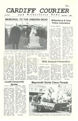 The Cardiff Courier Vol 1 No 8