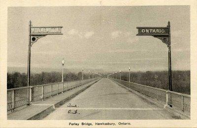 Perley bridge, Hawkesbury Ontario