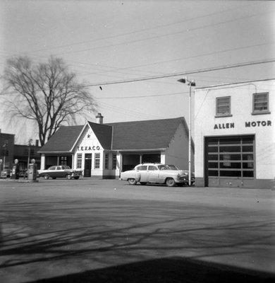 Rue Principale en 1956 - Main street in 1956