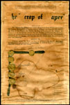 "The ""Scrap of Paper"" - Document Declaring Belgian Independence"