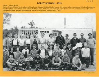 Foley School 1953
