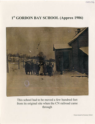 1st Gordon Bay School