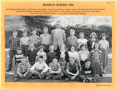Rosseau School 1954