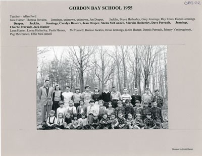 Gordon Bay School 1955