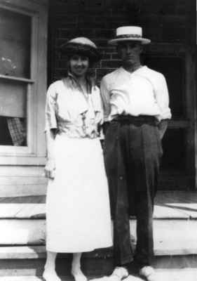 Helen Watson Scott Davidson (1895-    ) and James Douglas Scott (1898-1979)