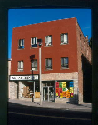 Great Things and ?, 8 Main Street East, Huntsville, Ontario, 1980-1990.