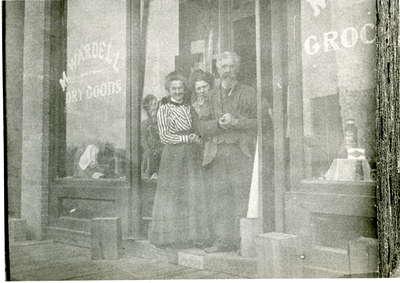 Wardell's Store, 77 Main Street, East, Huntsville, Ontario. (1895-1911)