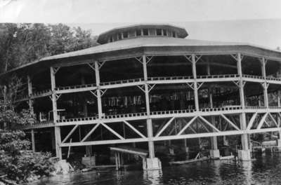Dancing Pavilion, Bigwin Inn, Lake of Bays, Ontario.