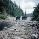 New Distress Dam on the Big East River system, Muskoka, Ontatio.