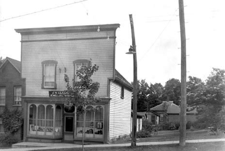 J W Gledhill Jeweller 7 Main Street West Huntsville Ontario 1936 Muskoka Digital Archives
