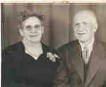 Elizabeth Darling Rose (1880-1971) and Thomas William Rose (1874-1956), c1951.