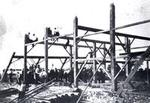 Barn Raising, John Leonard farm