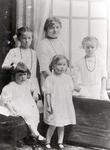 Four Allan Girls and Jessie Ditchum