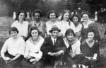 Knock Women's Baseball Team, 1922