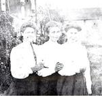 Jennie Reid, Millie Stewart, and Mabel Stewart