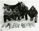 Ice fishermen on Lake Simcoe