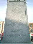 Innisfil Honour Roll on Barrie Cenotaph - World War I