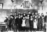 Fifth Line School Pupils and Teacher 1906