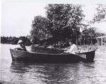 Rowing on Lake Simcoe