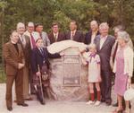Unveiling Historic Plaque - 1974