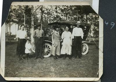 Sara, Helen, Aunt Alice, Lizzie & U. John M.