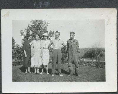 Aunt Lucretia, Grannie, Helen Holly, John Clifford
