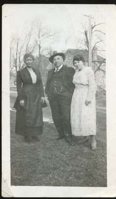 Lizzie Silver (Maracle), George Silver (Lizzie's Husband), Andrena Maracle (Niece of Lizzie)