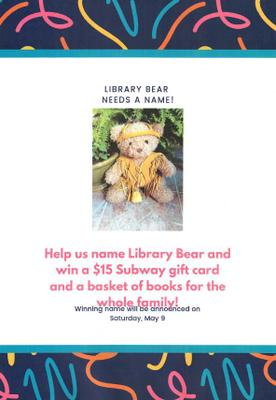 Library Bear Contest