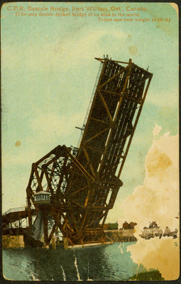 Postcard of Bascule Bridge