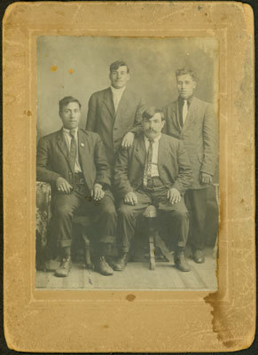 Four Unidentified Gentlemen