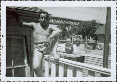 Man in Swimsuit
