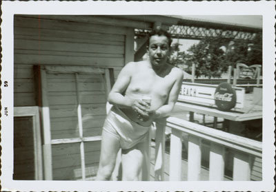 Man in Swimsuit