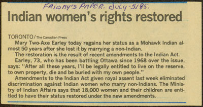 """""""Indian Woman's Rights"""""""