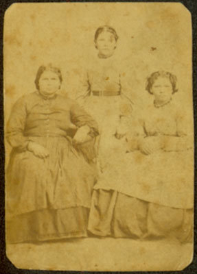 Three Unidentified Women