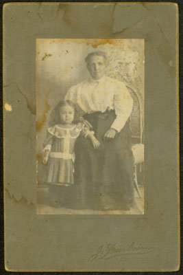 Unidentified Woman & Girl