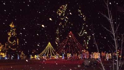 Festival des lumières de Kapuskasing