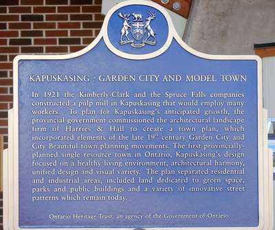 Kapuskasing - Garden City and Model Town