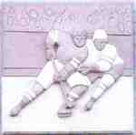 Sculpture of hockey players - 