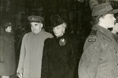 Princess Alice at the opening of the Imperial Order of Daughters of the Empire House