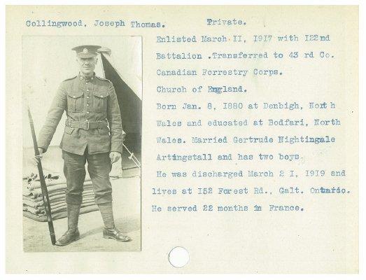 Collingwood, Joseph Thomas